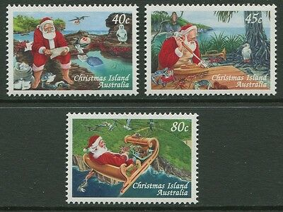 Christmas 1997 - Mnh Set Of Three (Br26-Rr)
