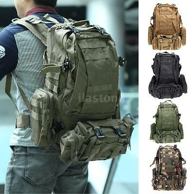 Military Rucksack Outdoor Tactical Backpack Travel Camping Hiking Sports Bag New