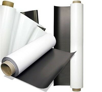 Magnetic Car Truck Sign Material  25 foot x 24 inch 30 mil Thick Roll Heavy Duty