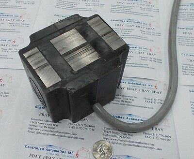 Vibratory Feeder Coil Electromagnet that will lift 821 pounds @24VDC