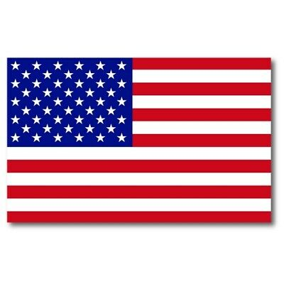 American Flag Magnet Large Size 5x8 inch Patriotic Decal for Car Truck or Fridge
