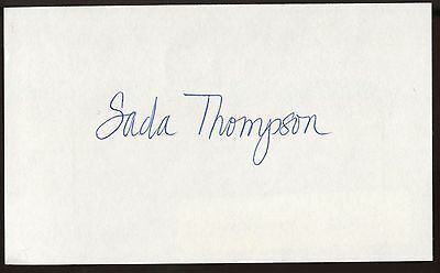 Quality Mel Torme Signed Index Card Signature Autographed Vintage Auto Excellent In