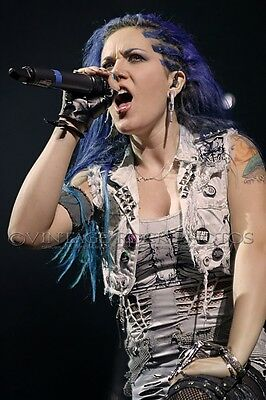 Alissa White Gluz Arch Enemy Photo 8x12 or 8x10 in '14 Live UK Concert Print s43