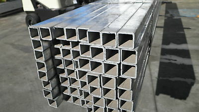 Steel Rhs Gal Box Section 40X40X2.5Mm  (New) 8.0 Mtr Lengths