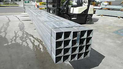 Steel Rhs Gal Box Section 100X100X3.0Mm (New) 8.0 Mtr Lengths
