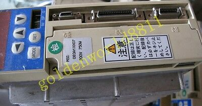 MSD083A1XX07 Servo Driver good in condition for industry use