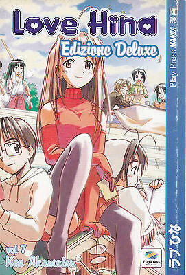 LOVE HINA DELUXE  n°  7 - Ed. Play Press