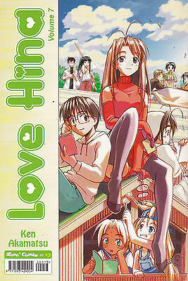 LOVE HINA n°  7 - Ed. Play Press