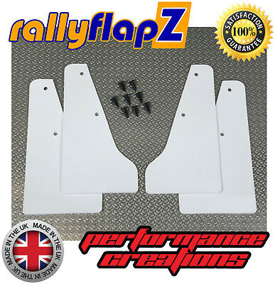 Custom MINI Splash Guards SUBARU IMPREZA Classic(93-01) rallyflapZ 4mm PVC White