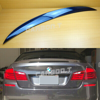 Painted BMW E90 3-series OEM type trunk spoiler eyelids color-300 White ◎
