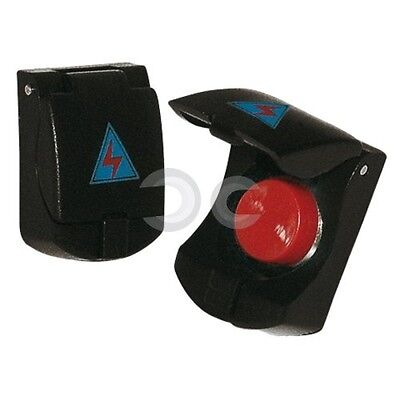 Interruttore Aeronautico Simoni Racing Button Nero Auto Tuning Pulsante Interno