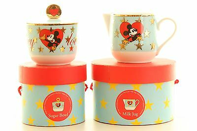 Disney Mickey Mouse Sugar Bowl and Milk Jug Sets