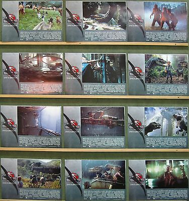 QD13 JURASSIC PARK 3 SAM NEILL TEA LEONI Lobby Set Spain