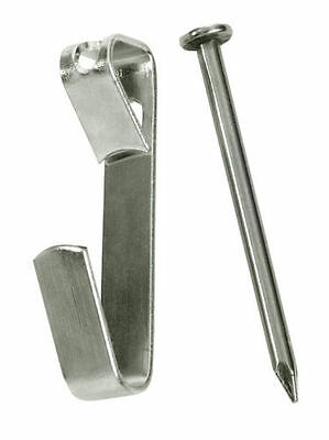 (50) 20 lb Wall Picture Frame Hanger  Hooks / 1 1/4  nails FREE SHIPPING hanging
