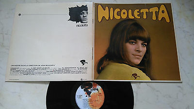 NICOLETTA Same *1st LP* *MEGARARE ORIGINAL FOC LP MADE IN FRANCE*70s