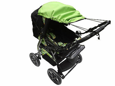Universal CANOPY FOR BUGGIES Pram SUN RAIN protection Parasol Umbrella Cover