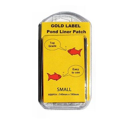 Gold Label Pond Liner Repair Patch - 140mm x 190mm