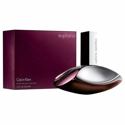 Calvin Klein Euphoria 100ml EDP Spray New Retail Boxed Sealed