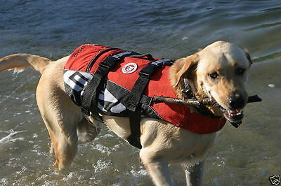 Ezydog - Red Seadog Life Jacket / Floatation Aid For Dogs All Sizes Of Dogs