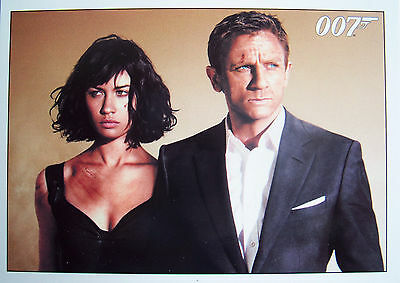 James Bond 007 Archives 2015 - Quantum Of Solace Basic Trading Card Set