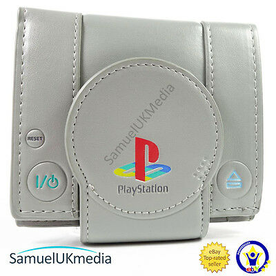 New Official Awesome Original Playstation One Console Bi-Fold Wallet