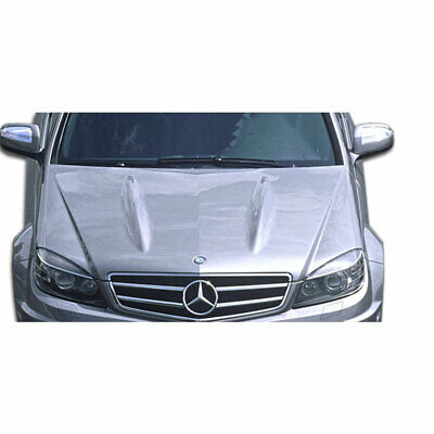 Mercedes W204 C63 Look Hood Body Kit 1 Pc For C-Class Mercedes-Benz 08-11 Duraf
