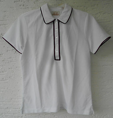 EP Pro 5621BB Weiß Damen Golf Polo Shirt