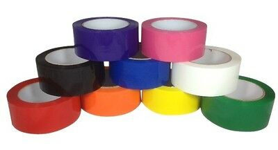 "Choose Your Own Color Tape Carton Sealing Packing Packaging Tape 2"" x 110 Yds"