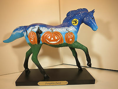 Trail Of Painted Ponies-Pumpkin Patch-2015 Halloween Pony-1st Edition # 1268-New