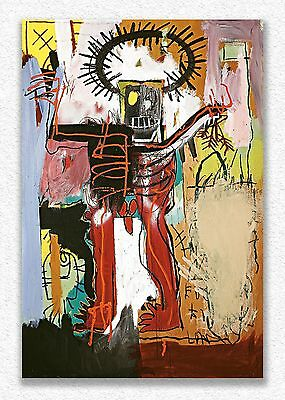 Jean-michel Basquiat   Untitled   150 x 100 cm   STAMPA SU TELA QUADRI CANVAS