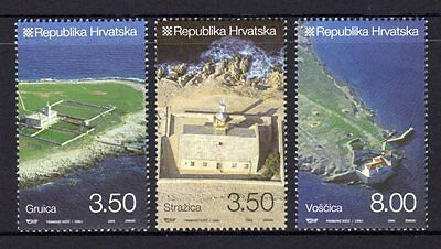 Croatia 2009 Lighthouses Set 3  MNH