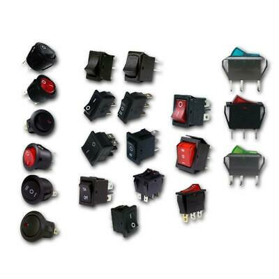 Rocker switch, round or square, Built-in switches, Car Dashboard Dash Boat Van