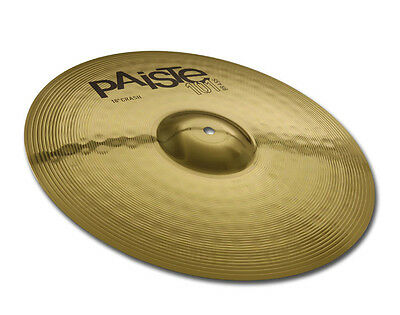 "Paiste Crash Piatto Professionale 14"" Batteria Acustica Drum Cymbal Peso Medio"