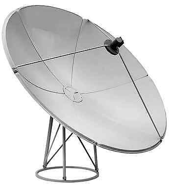 2.4m 240cm KU Band Satellite Dish UK Europe Nilesat Arabsat Spain