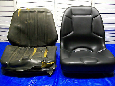 Black Seat For Ford 1320,1520,1720,1920,2120 Compact Tractors New Holland #Gb
