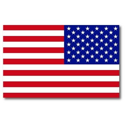 Reverse American Flag Magnet Large Size 5x8 inch Flag Decal for Car or Mailbox