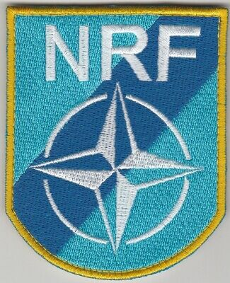 NRF. NATO. NATO RESPONSE FORCES patch. FREE SHIPPING