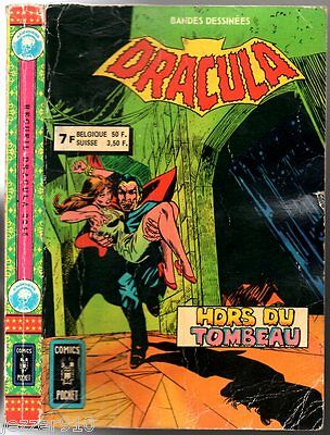 ALBUM/RECUEIL ¤ DRACULA n°25-26 ¤ 1979 COMICS POCKET