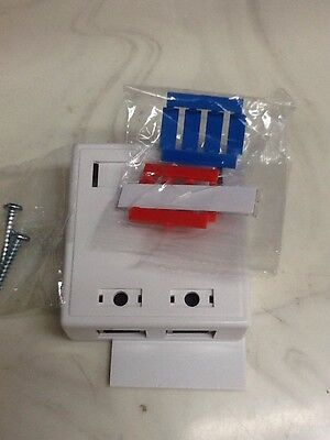 Cables to Go 03837 (757120038375) Cable 2-port Cat5e Surface Mount Box White