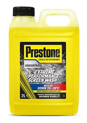 Prestone Concentrated All Seasons Screen Wash Works Down to -23°C 3x2L = 6 Litre