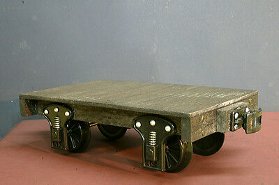 G Scale Flat Car - (Handcrafted using Wood and Plastic)