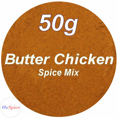 Butter Chicken Spice Mix 60g Herbs & Spices - ozSpice