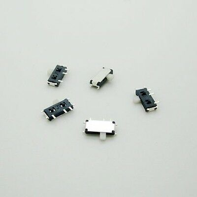 20PCS Mini SPDT 1P2T Slide Switch On-Off MSK-12C02 SMD 7P For MP3 MP4