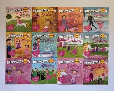 Pinkalicious Childrens Books Phonics I Can Read Readers Learn to Read Lot 12