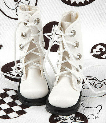 ☆╮Cool Cat╭☆【13-08】Blythe Pullip Doll Shoes Boots # White