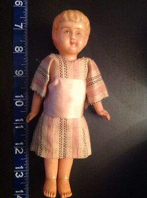 Antique Celluloid Girl Doll