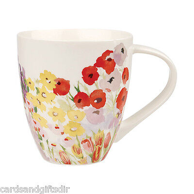 Churchill China Collier Campbell Painted Garden Crush Mug Tea Coffee Cuppa