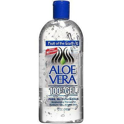 Fruit Of The Earth Aloe Vera 100% Gel No Alcohol - 340G