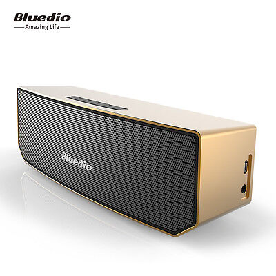 Bluedio BS-3 Wireless Bluetooth Stereo V4.1 Portable Speakers Soundbar Woofer 3D