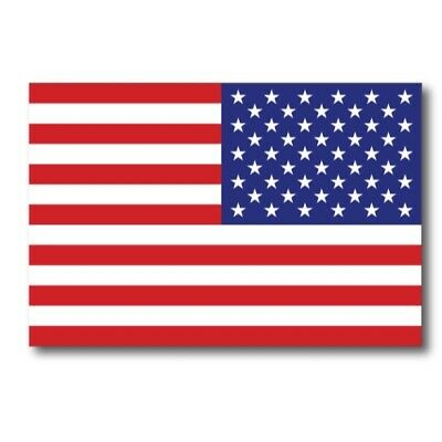 Reverse American Flag Magnet 4x6 inch Flag Decal Great for Car Mailbox or Fridge